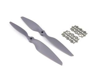 Orange HD Propellers 9045(9X4.5) Glass Fiber Nylon Gray 1CW+1CCW-1pair