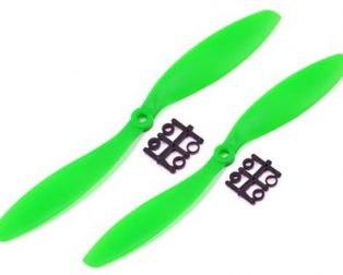Orange HD Propellers 9047(9X4.7) ABS 1CW+1CCW-1pair Green