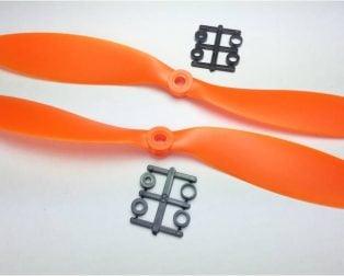 Orange HD Propellers 9047(9X4.7) ABS 1CW+1CCW-1pair Orange