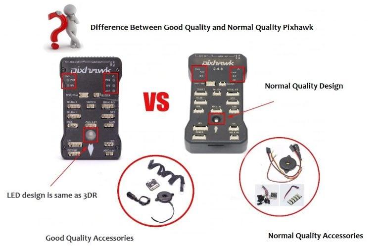 Pixhawk 2.4.8 good quality vs Normal quality
