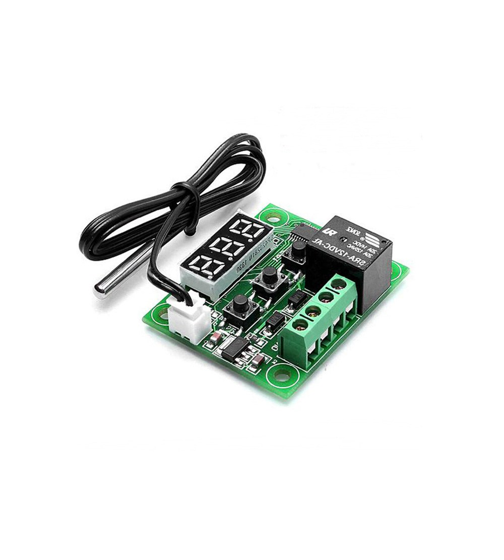 XH-W1209 12V Digital Temperature Controller Module W/ Display and NTC  Waterproof Temperature Sensor - Robu in | Indian Online Store | RC Hobby |