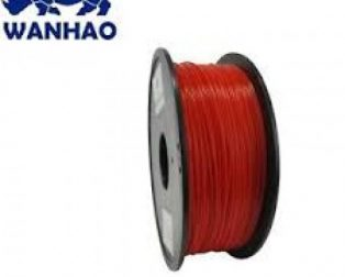 WANHAO RED ABS 1.75 MM 1 KG FILAMENT FOR 3D PRINTER - PREMIUM QUALITY