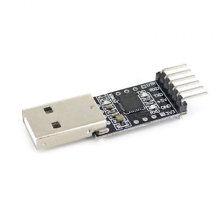 CP2102(6-pin) USB 2.0 to TTL UART serial converter