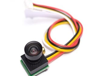 600TVL 170 Degree Super Small Color Video Mini FPV Camera with Audio for Mini 200 250 300 Quadcopter