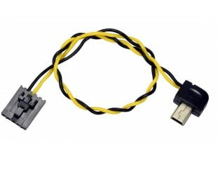 Mini USB (90° Connector) to FPV AV Output Cable for GoPro Hero 3