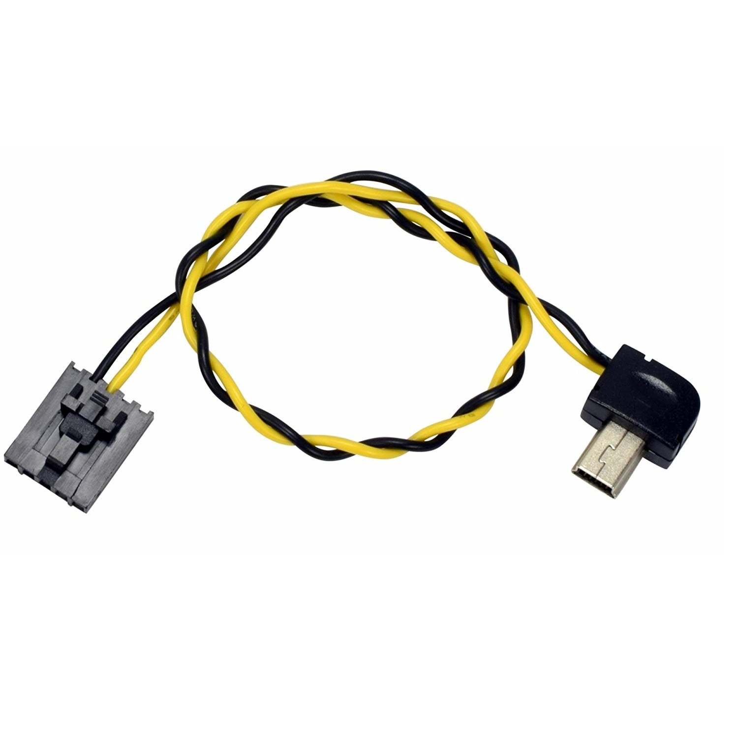 mini usb 90 connector to fpv av output cable for gopro hero 3