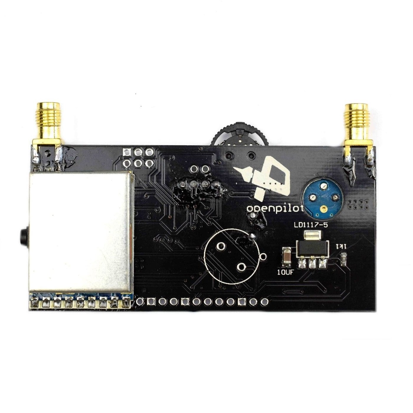 DIYRX58085.8G 40CH diversity FPV receiver with OLED display for FPV racer Quad