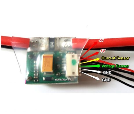 APM/Pixhawk Power Module V1.0 Output BEC 3A XT60 Plug 28V 90A