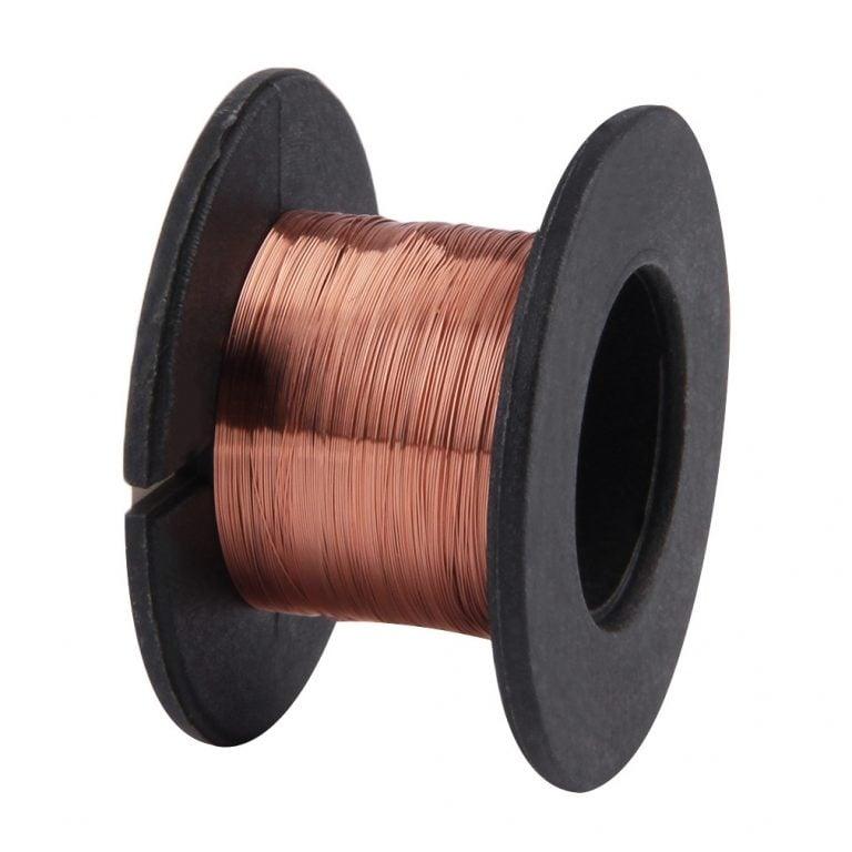 0.1MM Copper Soldering Solder PPA Enamelled Repair Reel Wire