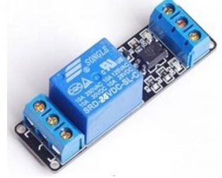 1 Road/Channel Relay Module (with light coupling) 24V