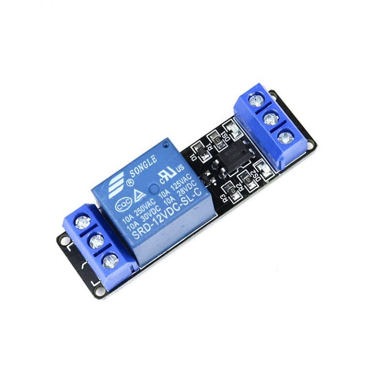 1 RoadChannel Relay Module (with light coupling) 12V