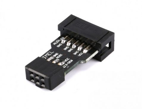 AVR ISP 10 Pin to 6 Pin Adapter Board