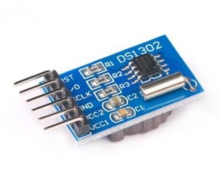 DS1302 Real Time Clock Module (With CR2032 Battery)