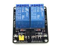 12V Dual Channel Relay Module (with Light Coupling)