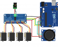 16-Channel 12-bit PWM/Servo Driver - I2C interface - PCA9685 (Robu.in)