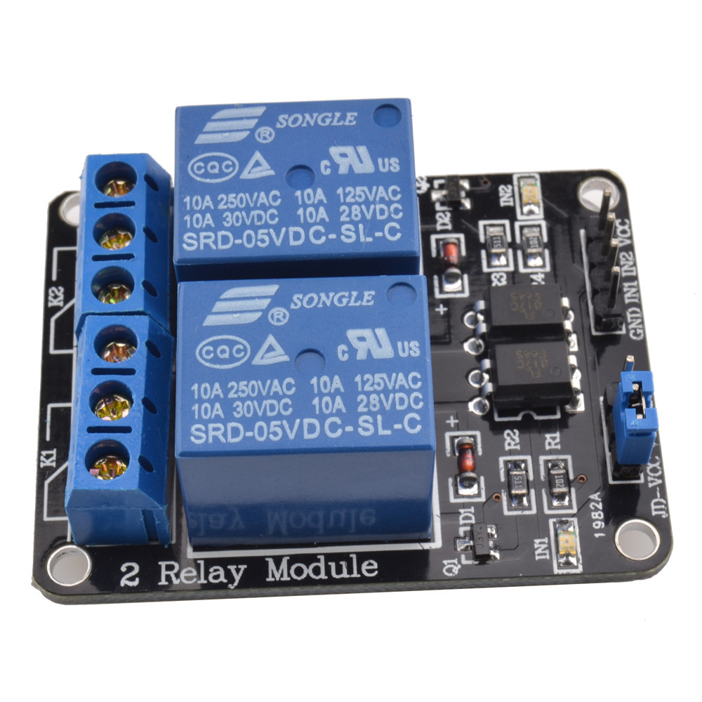 5V Dual Channel Relay Module - Robu in | Indian Online Store | RC Hobby |  Robotics