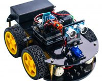 24in1 Elegoo Arduino Smart Robot Car Kit with Rechargeable Batteries