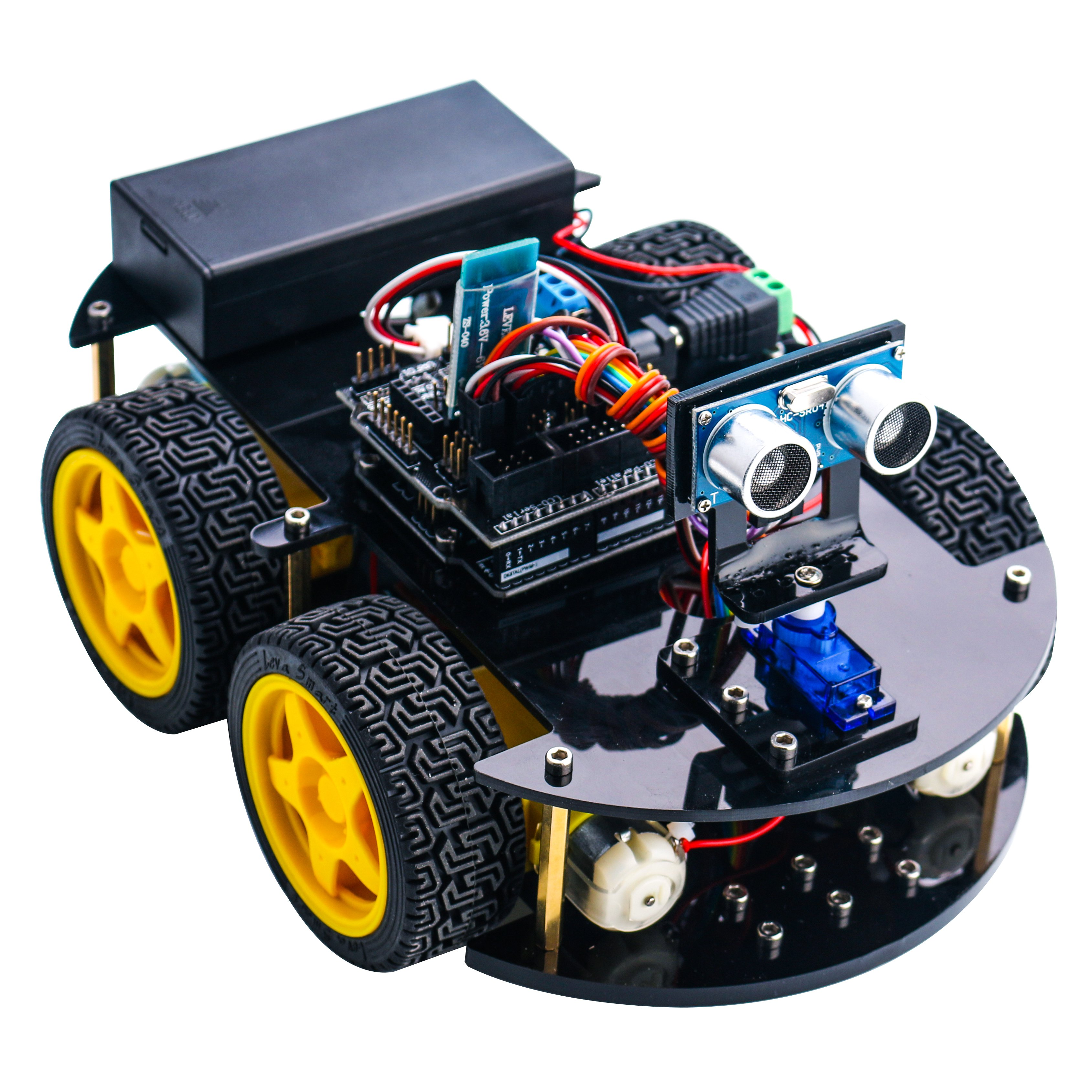 24 1 Elegoo Arduino Project Smart Robot Car Kit Four Wheel Drives on camera circuit board diagram