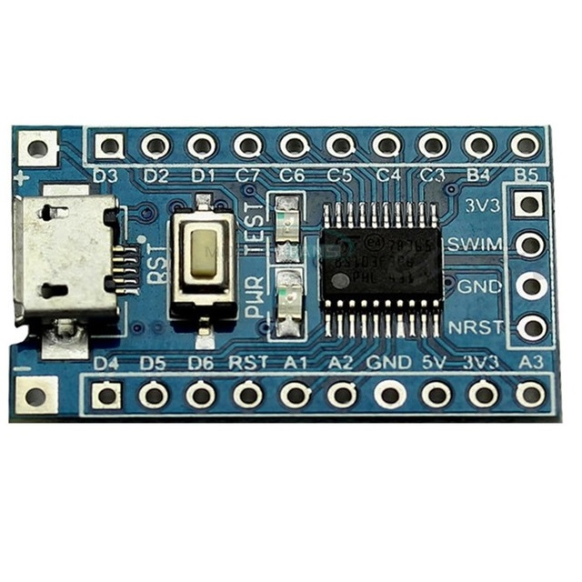 Stm8s003f3 Example Code