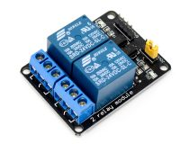 2 Road/Channel Relay Module (with light coupling) 24V - Robu.in
