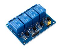 4 Road/Channel Relay Module (with light coupling) 24V - Robu.in
