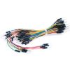 30pcs Flexible Breadboard Jumper Wires