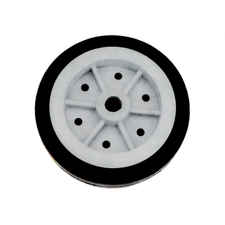 EasyMech 100mm Modified Heavy Duty(HD) Disc Wheel (Gray) - 2PC