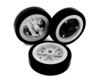 EasyMech 100mm Modified Heavy Duty(HD) Disc Wheels Gray - 4Pcs