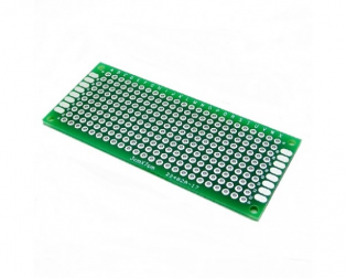 3x7 cm Universal PCB Prototype Board Double-Sided-2pcs.