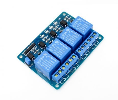 4 Road/Channel Relay Module (with light coupling) 12V - Robu.in