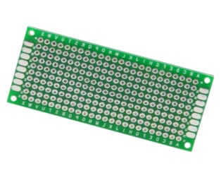 3x7 cm Universal PCB Prototype Board Double-Sided