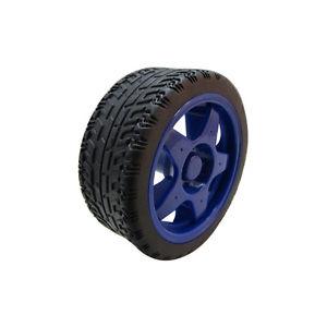 65mm Robot Smart Car Wheel Blue