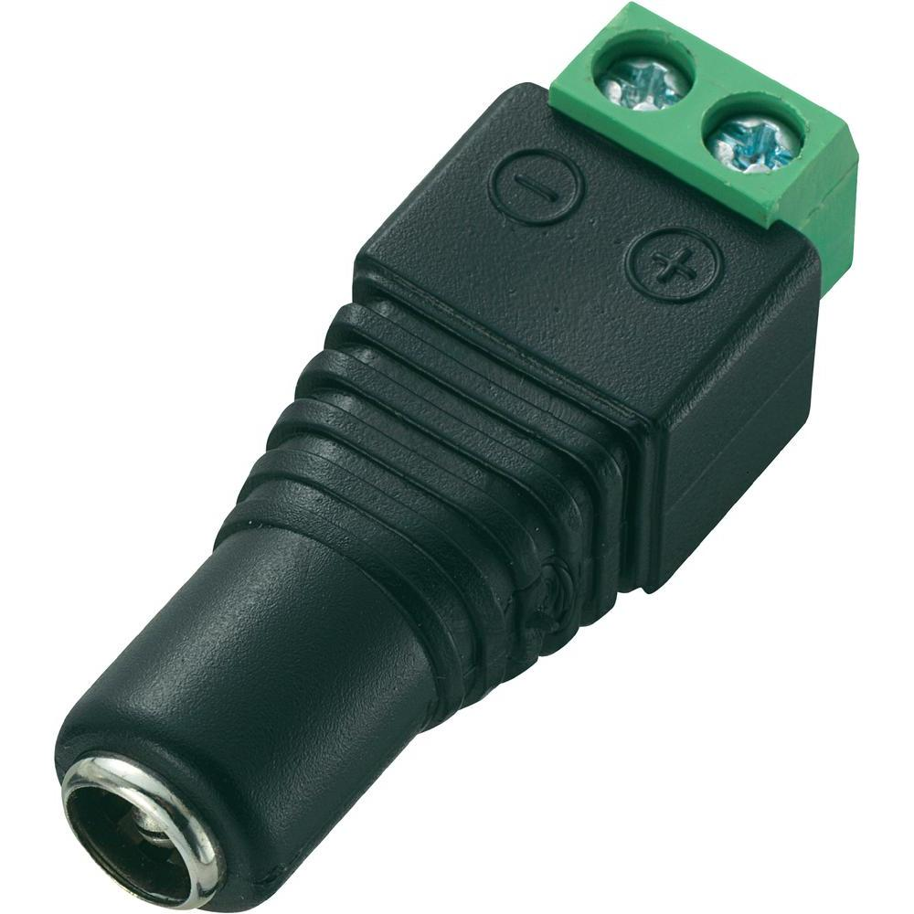 Male + Female 2.1*5.5mm for DC Power Jack Adapter Connector Plug For CCTV Camera