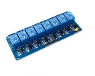 8 RoadChannel Relay Module (with light coupling) 24V - Robu (2)