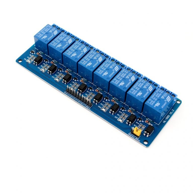 8 RoadChannel Relay Module (with light coupling) 24V - Robu (5)