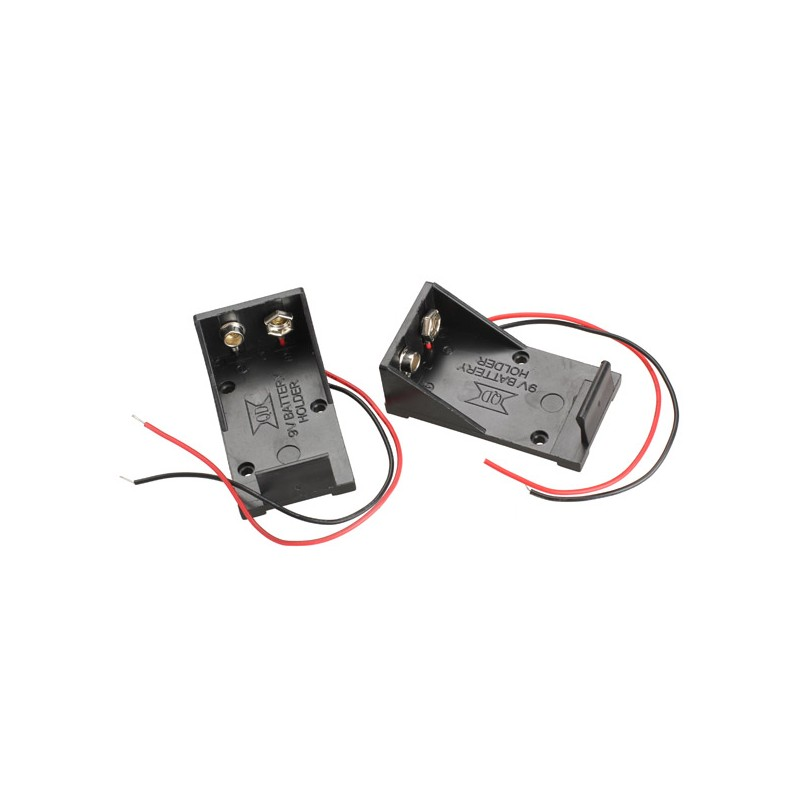 9V Cell Box, without Cover-2pcs