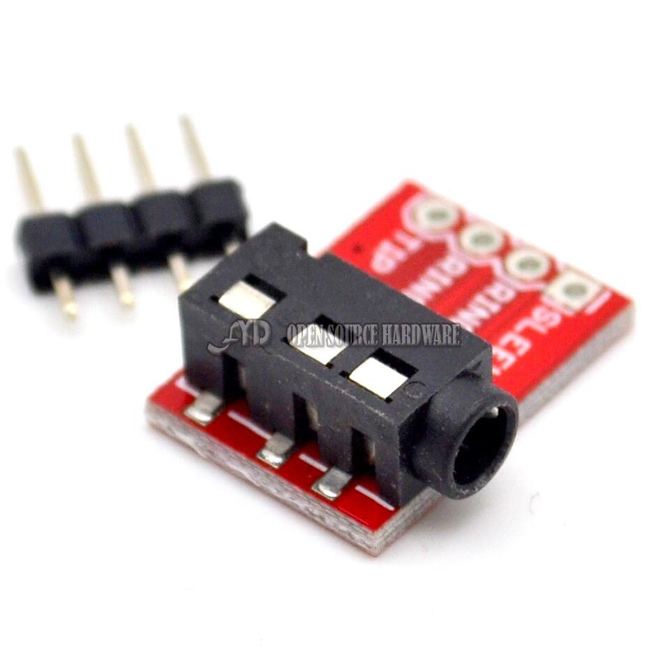 CJMCU-TRRS 3 5mm Jack AV Stereo Module - Robu in | Indian Online Store | RC  Hobby | Robotics