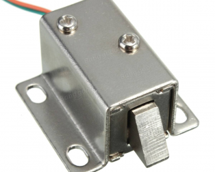 DC 12V Cabinet Door Lock Electric Lock Assembly Solenoid 1