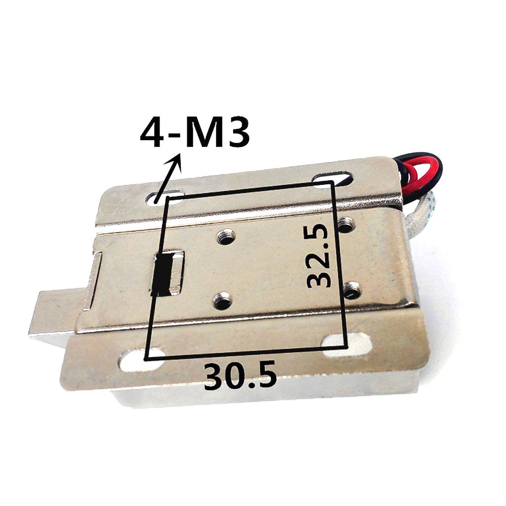 DC 12V Cabinet Door Lock Electric Lock Assembly Solenoid