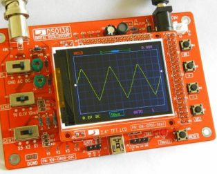 DIY DSO138 digital oscilloscope kit1
