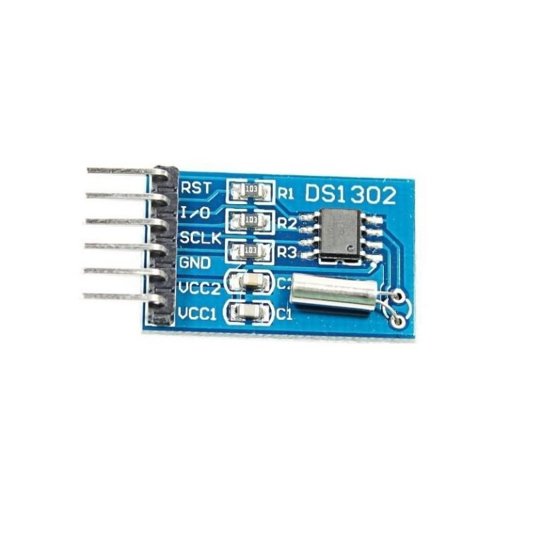 DS1302 Real Time Clock Module with battery