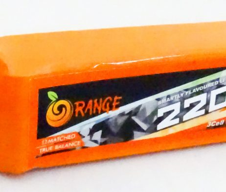 Orange 2200mAh 3S 40C/80C Lithium polymer battery Pack (LiPo)