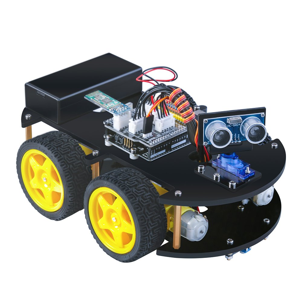 Smart Car Kits >> Elegoo Uno Smart Robot Car Kit V 3 0 Intelligent And Educational