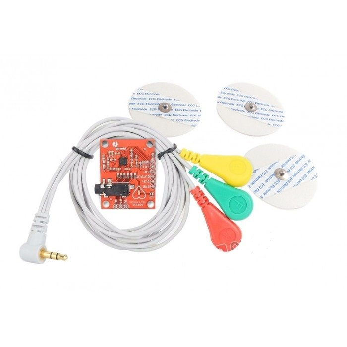 Heart Rate Monitor Kit with AD8232 ECG sensor module - Good Quality