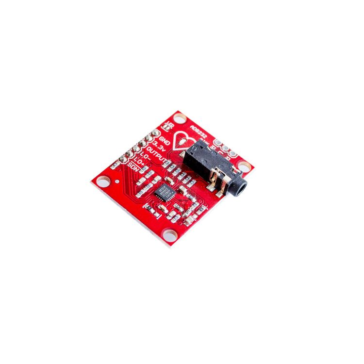 Heart Rate Monitor Kit with AD8232 ECG sensor module - Good Quality -  Robu in | Indian Online Store | RC Hobby | Robotics
