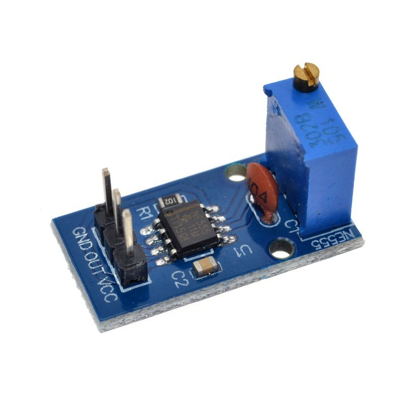 Frequency Adjustable Pulse Generator Module NE555