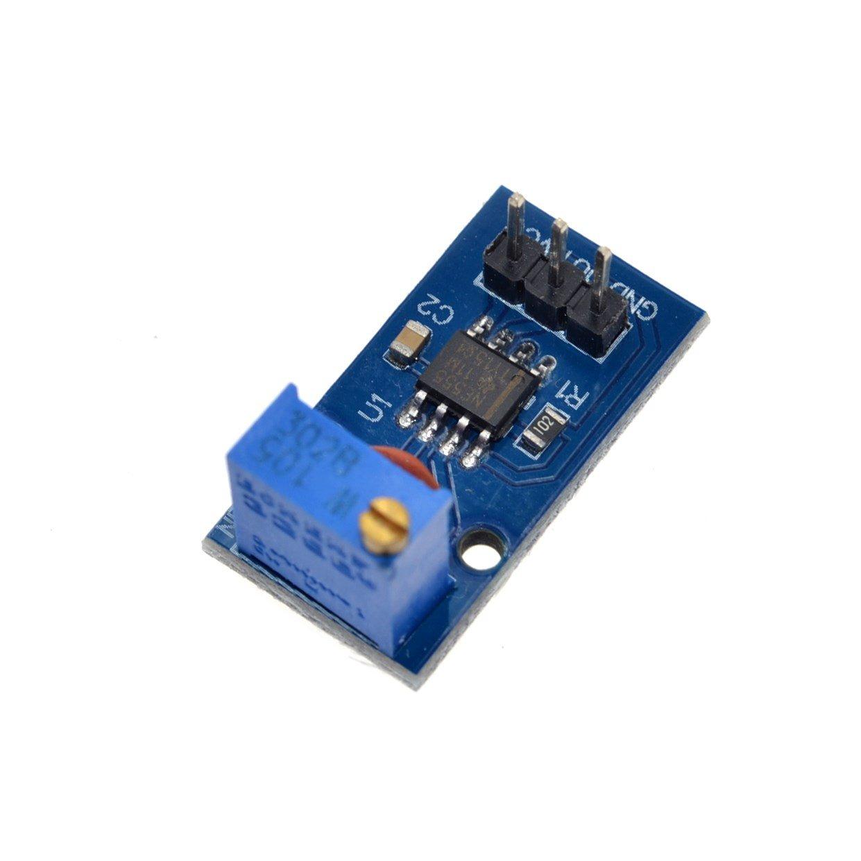 Frequency Adjustable Pulse Generator Module Ne555 Indian N5ese Teensey Noise Schematic