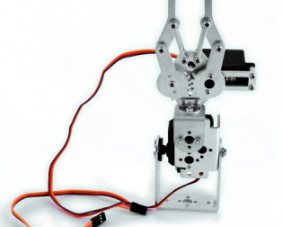 Full Set DIY 2DOF Robot Arm Manipulator Claw