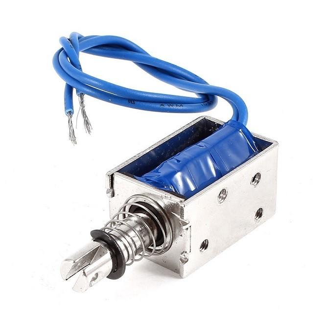 JF-0630B DC 24 V 300mA 10mm 6N Push Pull Solenoid Electromagnet
