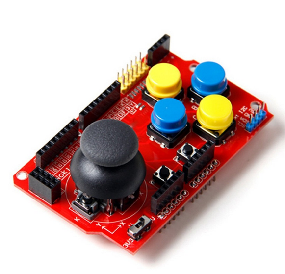 JoyStick Shield Module Robotics Control - Robu in | Indian Online Store |  RC Hobby | Robotics